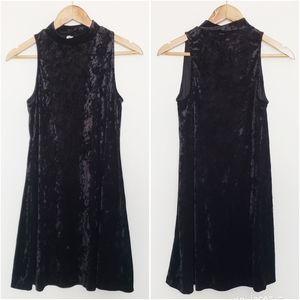 Dresses & Skirts - 4 for $25 black velvet dress